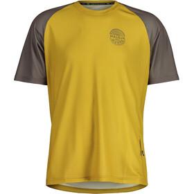 Maloja StachelbeereM. Multi Short Sleeve Multisport Jersey Men, golden fall